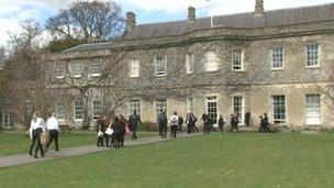 Devizes School in Wiltshire