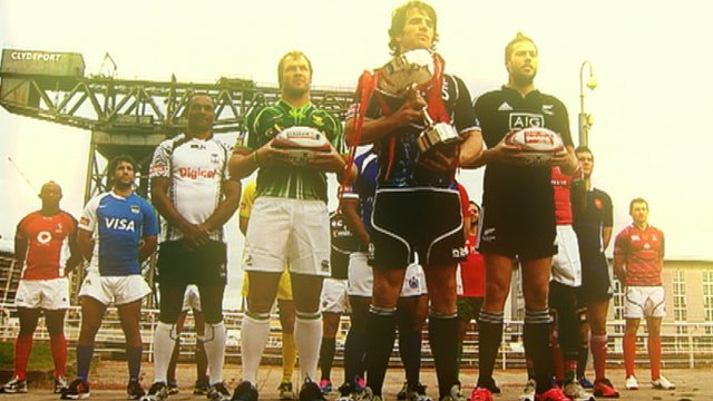 Glasgow rugby sevens adopts movie theme