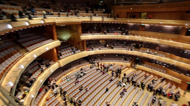inside the Mariinsky Theatre