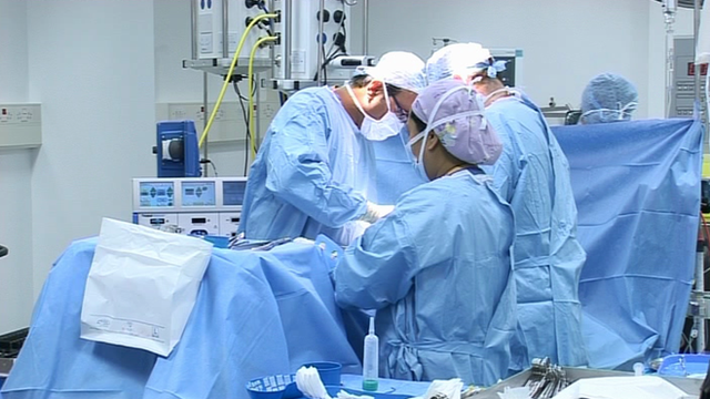 Surgical operating theatre