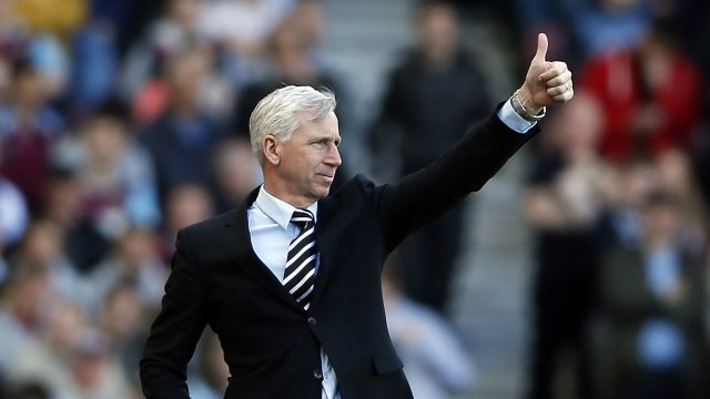 Alan Pardew is happy to pick up a point