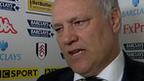 Fulham manager Martin Jol