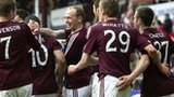 Hearts were 3-0 winners against St Mirren