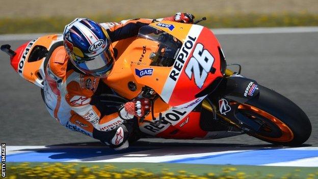 HASIL MOTOGP SPANYOL 2013 JEREZ Pedrosa Juara Marquez Pimpin Klasemen Sementara