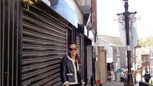 Maria Telford, independent retailer
