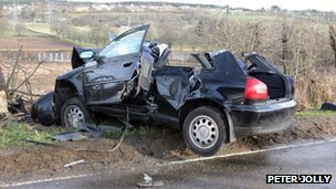 Beauly crash 4 May 13