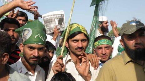PML-N rally in Sargodha