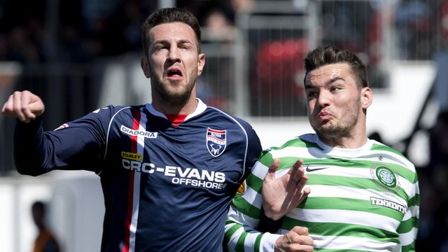 Ross County v Celtic