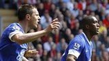 Everton players appeal against disallowed goal