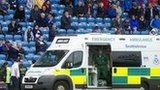Ambulance at Rugby Park