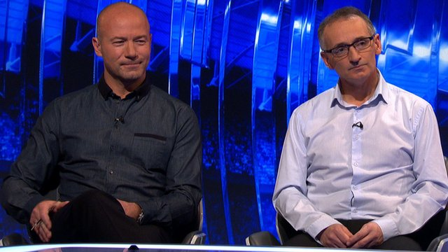 Alan Shearer and Pat Nevin
