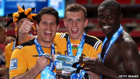 Newport County are the latest to pick up silverware this season
