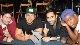 Rudimental's debut tops album chart
