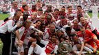 The 5-0 thrashing of Willem II Tilburg on Sunday saw Ajax secure a 32nd Dutch league crown.