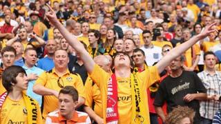 Newport fans at Wembley