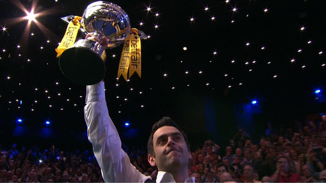 World champion Ronnie O'Sullivan