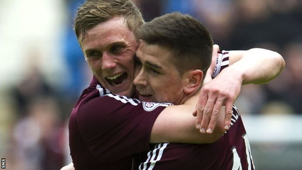 Kevin McHattie and Jamie Walker