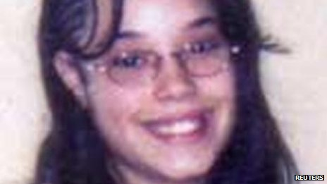Undated handout photo of Gina DeJesus when she was 14