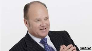 Diageo chief executive Paul Walsh