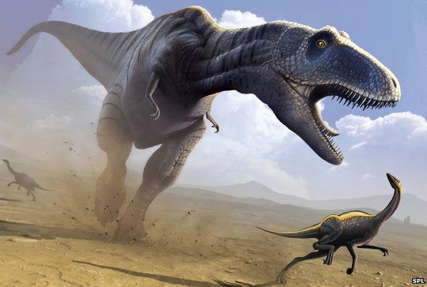 [Image: _67449753_e4460500-tyrannosaurus_rex_hunting-spl.jpg]