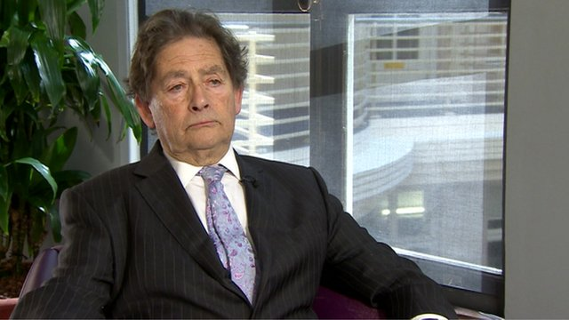 The former chancellor of the exchequer, Lord Lawson