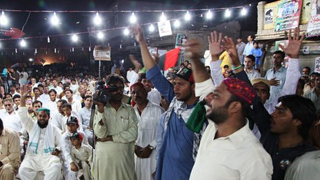 Pakistan People's Party rally at Larkana (May 2013)