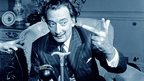 Photograph of Dali at the BBC