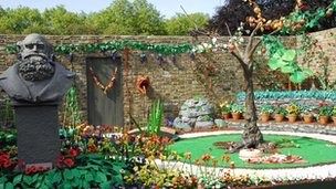James May's Plasticine garden.
