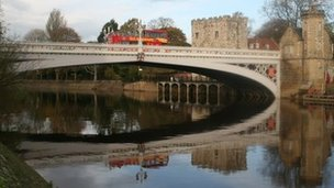Lendal Bridge in York