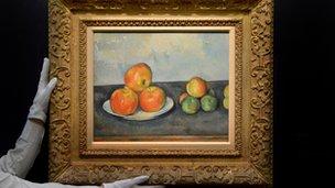 Cezanne's Les Pommes