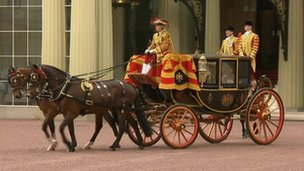 Prince Charles and the Duchess of Cornwall leave Buckingham Palace