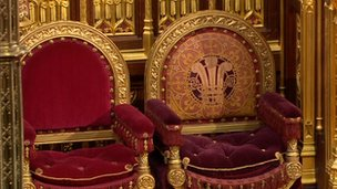 Chairs for Prince Charles and the Duchess of Cornwall