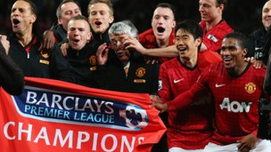 In all, 13 of Man Utd's 20 English League titles were won under Sir Alex