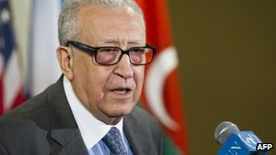 UN-Arab League envoy for Syria, Lakhdar Brahimi. Photo: April 2013
