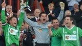 Guernsey celebrate winning the 2012 Muratti