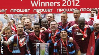 West Ham won 2012 play-offs