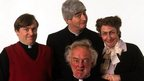 A picture of the Father Ted cast