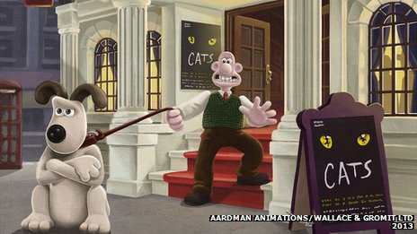 Wallace and Gromit in the West End