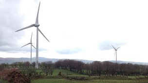 Carn Hill windfarm