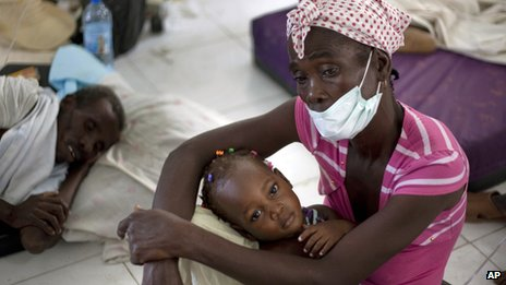 UN anti-cholera plan in Haiti 'failing'