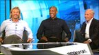 Robbie Savage, Dion Dublin and Peter Reid