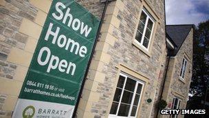 Barratt show home