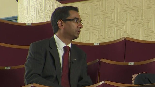 Kirklees Council leader Mehboob Khan: