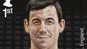 Gordon Banks stamp