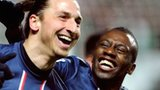 Zlatan Ibrahimovic and Blaise Matuidi