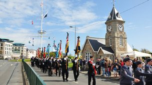 Liberation Day parade 2013