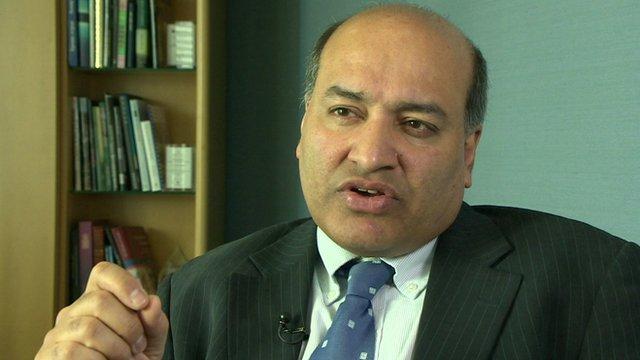 EBRD President Suma Chakrabarti
