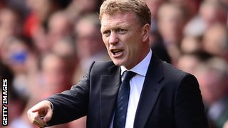 New Manchester United boss David Moyes