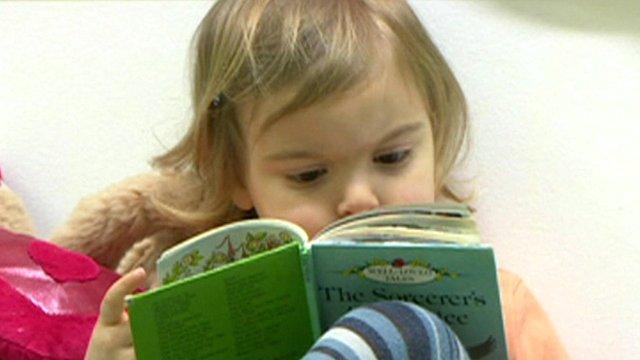 Child in nursery