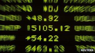 Dow Jones board